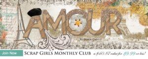 Scrap Girls Club Amour