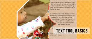 Text Tool Basics
