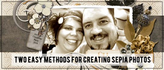2 Easy Methods for Creating Sepia Photos
