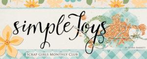 Scrap Girls Club Simple Joys