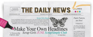 ScrapSimple Club The Daily News