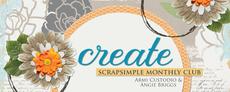 Scrap Girls SS Club Exclusive: Create!