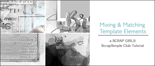 Mixing & Matching Template Elements