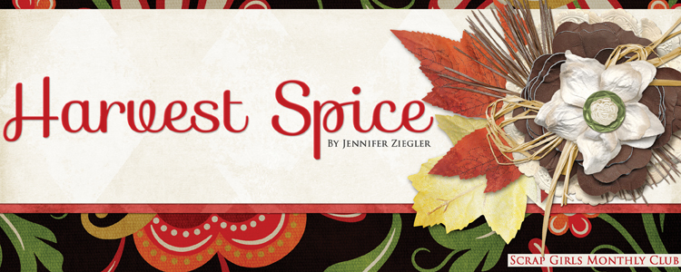 Scrap Girls Club Exclusive: Harvest Spice
