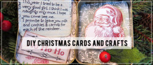 DIY Christmas Cards and Crafts