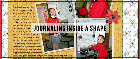 Journaling Inside a Shape