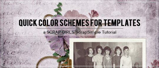 Quick Color Schemes for Templates - Intro Banner
