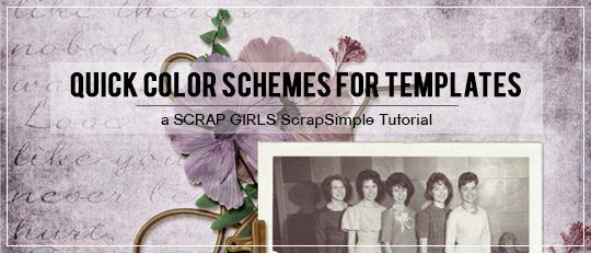 Quick Color Schemes for Templates