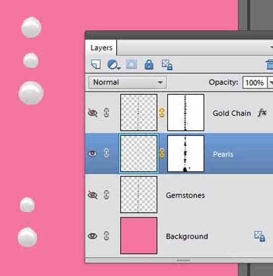 Photoshop instructions for coloring the second layer