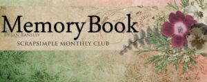 Memory Book - ScrapSimple Club February 2016