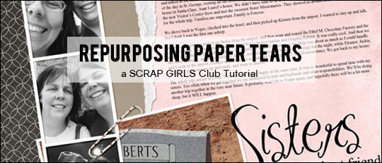 Repurposing Paper Tears