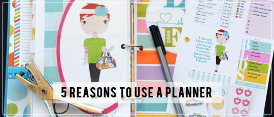 Making Plans: 5 Reasons to Use a Planner