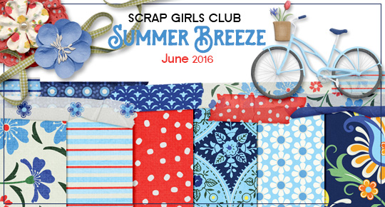 Scrap Girls Club Exclusive: Summer Breeze