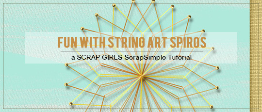 Fun with String Art Spiros
