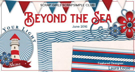 Scrap Girls SS Club Exclusive: Beyond the Sea