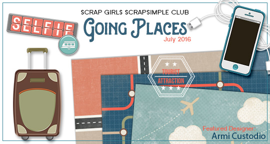 Scrap Girls SS Club Exclusive: Going Places
