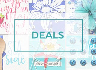 digital scrapbooking deals badge