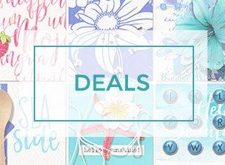 digital scrapbooking deals badge