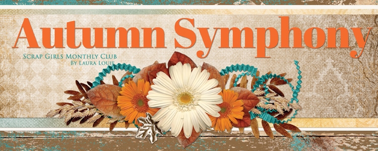 Scrap Girls Club Exclusive: Autumn Symphony