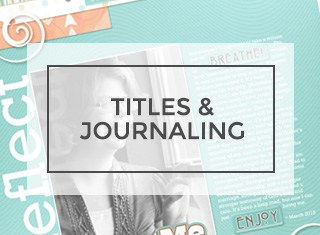 Titles & Journaling