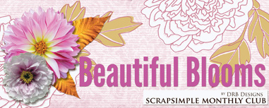Scrap Girls SS Club Exclusive: Beautiful Blooms
