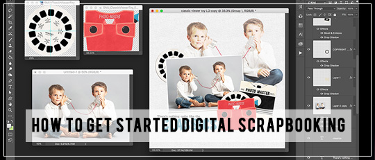 How to Get Started Digital Scrapbooking