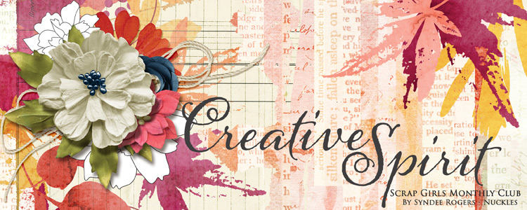 Scrap Girls Club Exclusive: Creative Spirit
