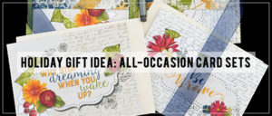 Holiday Gift Idea - All Occassion Card Sets Intro Banner