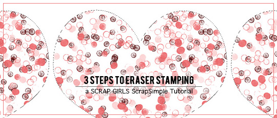 3 Steps to Eraser Stamping
