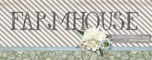 Scrap Girls Club - Farmhouse Banner