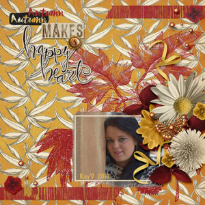 A sample layout with Warm and Cozy