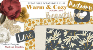 ScrapSimple Club Warm and Cozy