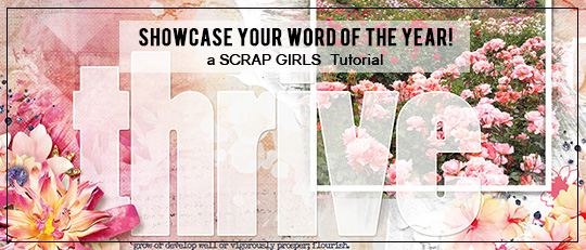 Showcase Your Word of the Year!
