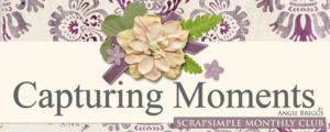 ScrapSimple Club 2017 - Capturing Moments Club Banner