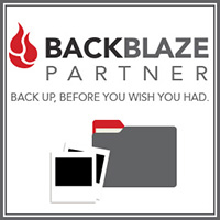 BackBlaze cloud-based backup Affiliate Badge