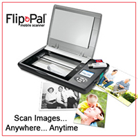 Flip-Pal Mobile Scanner badge