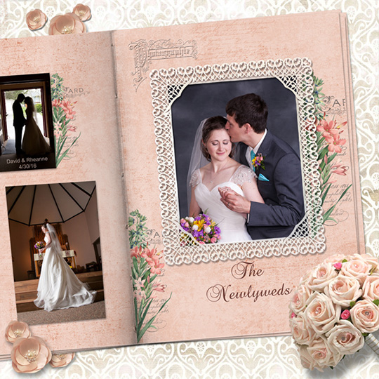 Wedding layout using Bontanica SS Club