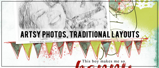 Artsy Photos, Traditional Layouts