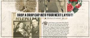 Drop Cap tutorial header