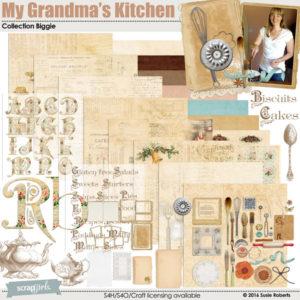 My Grandmas Kitchen Digi Kit