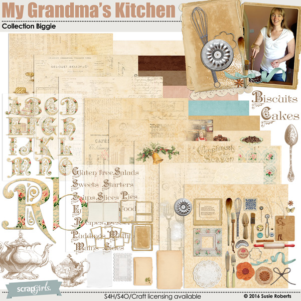 My Grandmas Kitchen Digi Kit
