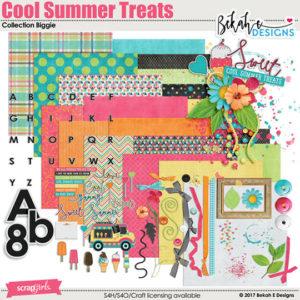 cool summer treats digi kit