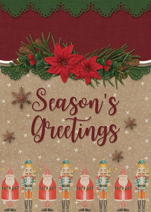 Seasons greeting card
