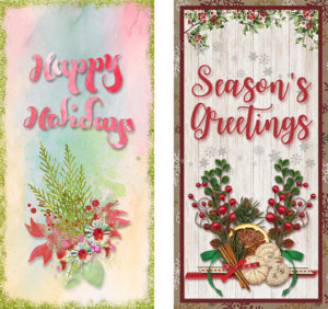 DIY Christmas Cards printable