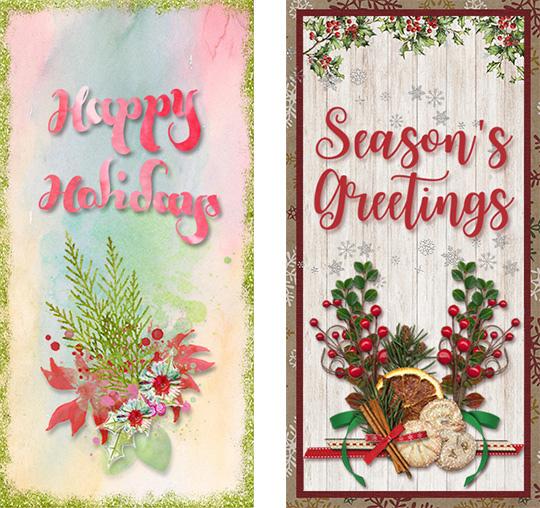 DIY Christmas Cards printable