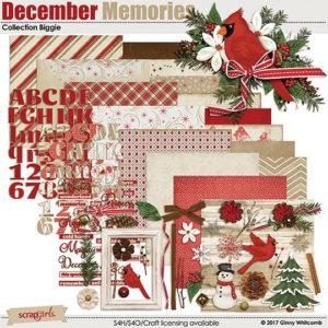 December Memories digital kit