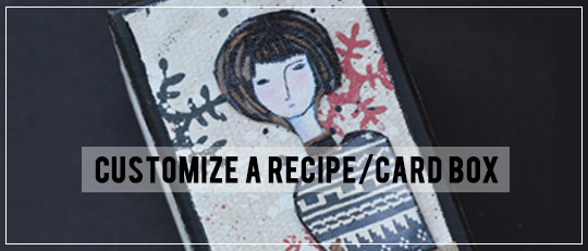 Customize a Recipe or Card Box