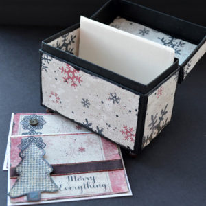 Recipe card box add cards or recipes