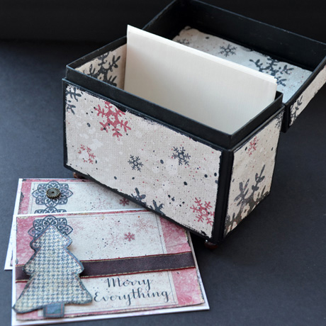 Recipe card box add cards or recipes