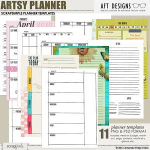 Artsy Planner